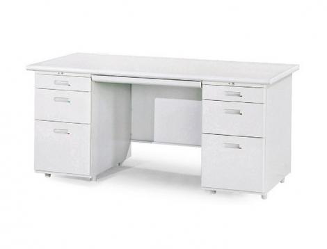 雙邊辦公桌(左三屜右三屜)